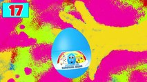 30 Surprise Eggs Animation!!! CARS Trucks Colors Sports Balls + Nursery Rhymes (Songs for