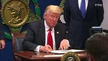 """트럼프 """"테러위험국 국민 입국 차단""""...이란 """"미국인 입국 금지"""" / YTN (Yes! Top News)"""
