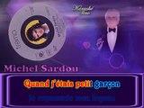 Michel Sardou - En chantant KARAOKE / INSTRUMENTAL