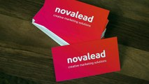 Novalead Business Cards 3D Logo Video Animations Services Intro Outro Transitions