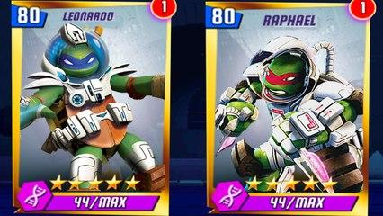 Teenage Mutant Ninja Turtles Legends - Space Kraken and Space Turtles