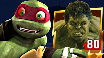 Teenage Mutant Ninja Turtles Legends - Classic Turtles And The Hulk