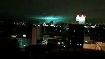 D'étranges lumières dans le ciel durant le séisme au Mexique