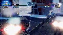 Champs de bataille boîte de infini fer homme merveille jouet contre contre Ultron disney 3.0