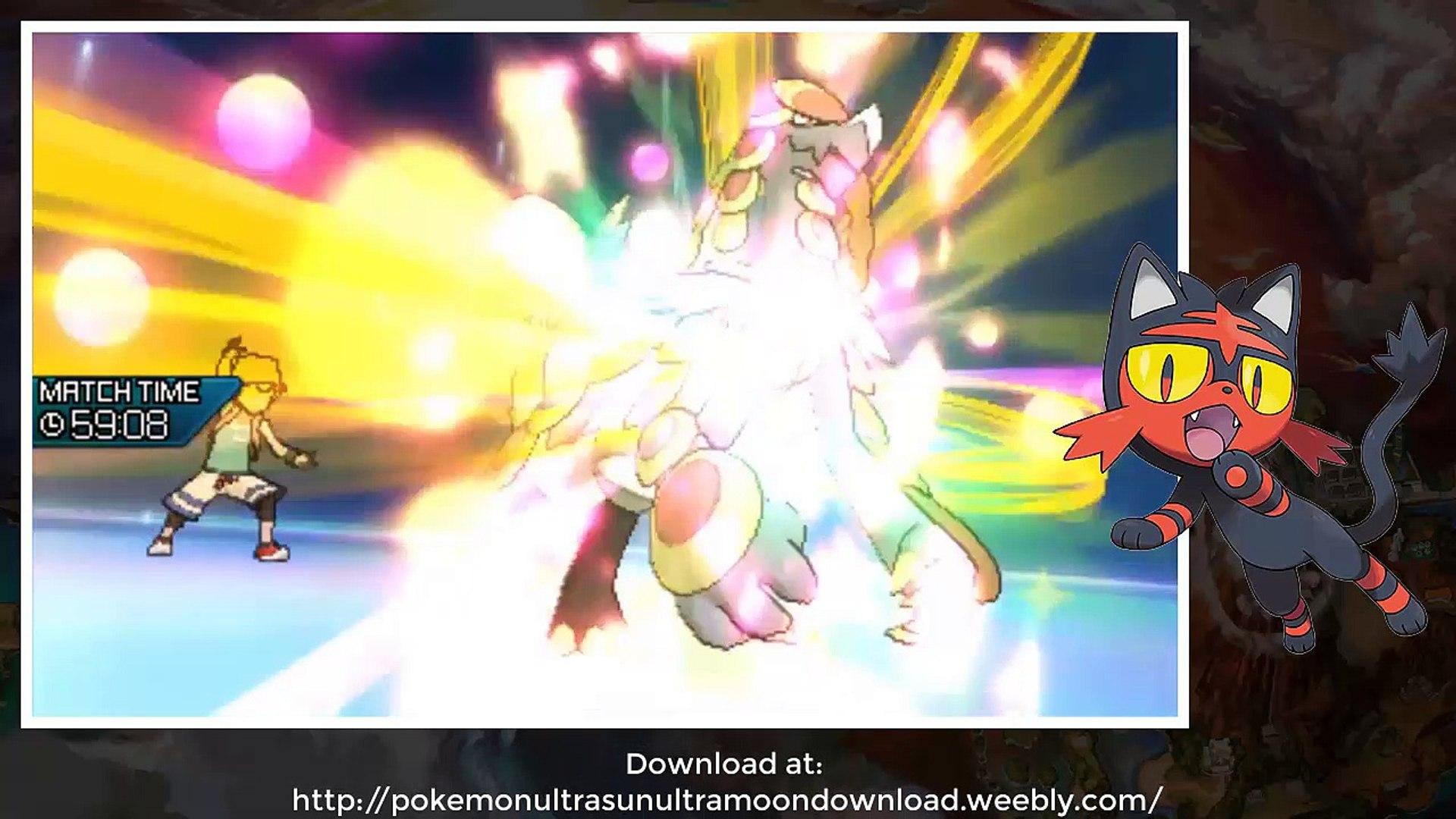Pokémon Ultra Sun and Pokémon Ultra Moon Download