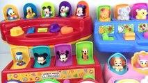 Animaux les couleurs Apprendre souris nombres jouets vers le haut en haut avec 5 pop disney jr mickey clubhouse minn