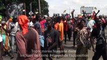 Togo: marée humaine dans les rues de Lomé