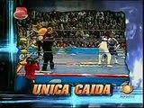 AAA-Sin Limite  2009.07.26  Mexico City  02 Aero Star & Fabi Apache vs. Billy Boy & Sexy Star