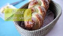 Plaited sesame challah bread recipe
