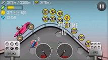 Voiture montée colline Courses arc en ciel se rallier garage 8155m gameplay
