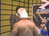 Midnight Rockers vs Rock & Roll RPMs - JIP Tag Titles vs Ring  (1987.11.07-08 CWA)