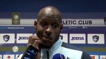 Après HAC - Orléans (1-1) réaction du gardien de but havrais Yohann Thuram