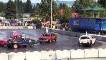Les meilleures gros des voitures fou démolition dur les coups Les conducteurs derby-hard, le