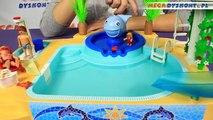 Pour enfants Fontaine parc piscine baleine avec avec fontaine eau baleine playmobil 5433 r