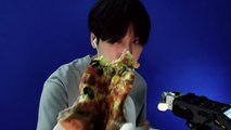 [Korean ASMR] 피자 쩝쩝 ,pizza eating sounds ASMR 윙잇 #39