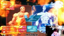 Tekken 7 FR 161019 LowHigh(Bryan)vsKnee(Bryan) 로하이(브라이언)vs무릎(브라이언) Devine Ruler Death Matc