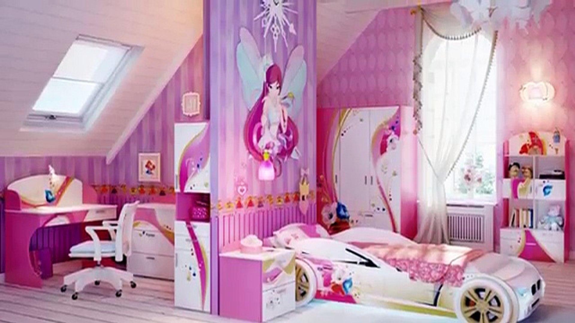 Ideas para Decorar Cuartos para Niñas | Cuartos muy Hermosos #2