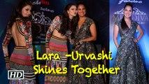 Miss Universe Lara Dutta & Miss Diva Urvashi Rautela shines Together