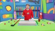 Attaque petit Art Attack Art chapitres enfants artisanat minigolfe