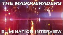 Elimination Interview- The Masqueraders Thank America For Their Support - America's Got Talent 2017