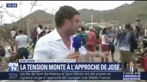 """Saint-Martin: """"On a tout perdu, on a peur pour notre vie, on veut rentrer"""", témoigne une habitante"""