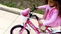 Yeni bisiklet lily ilk kez deniyoruz ))