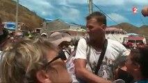 Les larmes et les cris des habitants de Saint Martin en apprenant que l'ouragan José était en train d'arriver sur eux