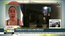 México: ascienden a 58 los fallecidos por sismo de 8.2 grados Richter
