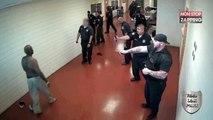 Un prisonnier américain se bat avec 19 gardiens ! (vidéo)