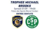 LIVE BASKET : LEVALLOIS VS LIMOGES (TROPHÉE MICHAEL BROOKS)