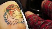Fou gloire trou trou mystère tatouage