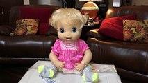 Vivant bébé haricot changer couche poupée alimentation aliments Nouveau Cru avec 2006 compilation beatrix