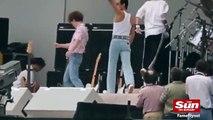 Rami Malek como Freddie Mercury en Live Aid