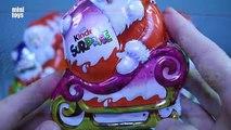 Un et un à un un à Noël édition n / A sur traîneau kinder surprise, Noël Père Noël en traîneau
