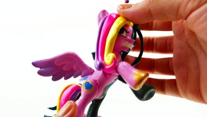 Queen Chrysalis Transforms Into Princess Cadance My Little Pony Split Pony Custom