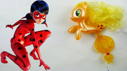 Miraculous Ladybug Mermaid Seapony Custom with My Little Pony Applejack Seapony
