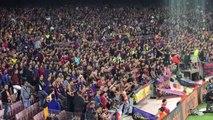 La Marseillaise chantée par le Camp Nou pour Dembélé
