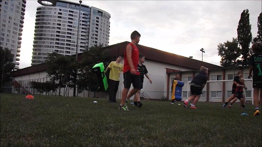 Rugby school training Bratislava Slovakia 6sept17