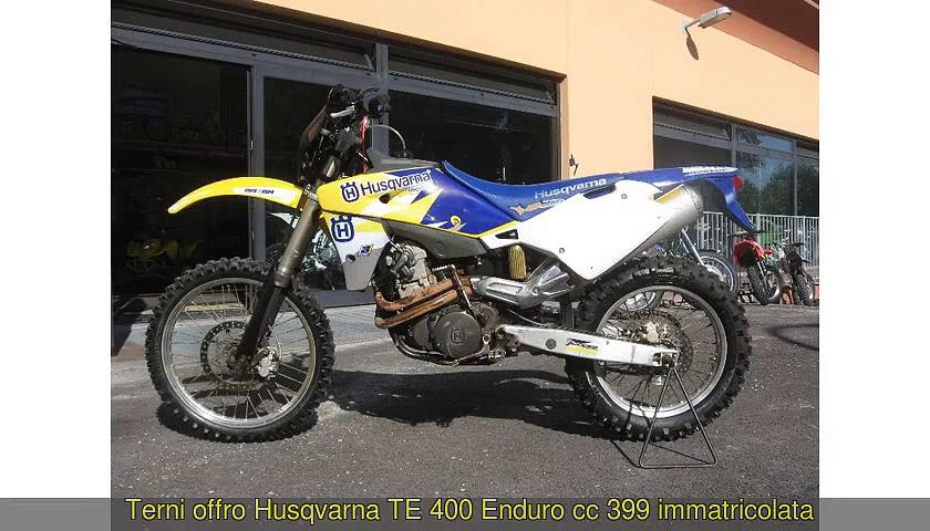 HUSQVARNA  TE 400  Enduro cc 399