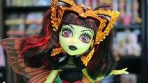 Huer poupées haute Roi monstre Nouveau examen jouet York luna mothews elle eedee mouscedes deboxing
