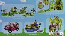 Voiture vacances porc peppa camping de vacances jouet campervan playset