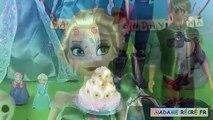 Frozen Fever Birthday Party Cake Play Doh Fête givrée Anna Anniversaire Reine des Neiges C