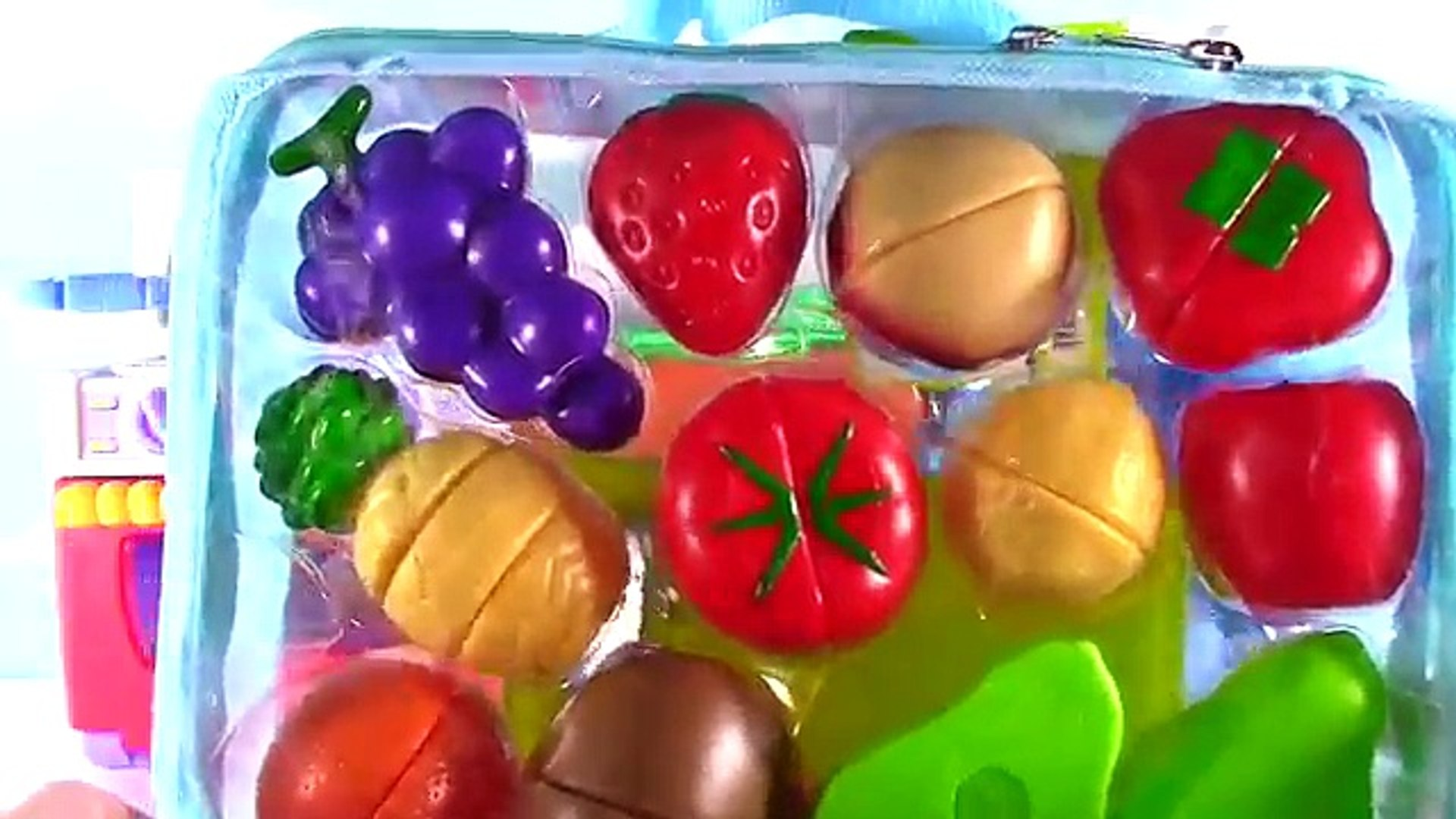 Игрушка кухня липучка фрукты овощи Готовка суп выпечка хлеб печенье игрушка питание ASMRA