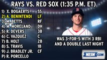 Red Sox Lineup: Pedroia Has Been Hot Since Return From DL