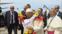 Cartagena le da una bienvenida musical al papa Francisco
