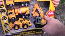 Ciment déverser fouilleur pour enfants charge table de mixage jouet jouets un camion déballage Véhicules Construction mb