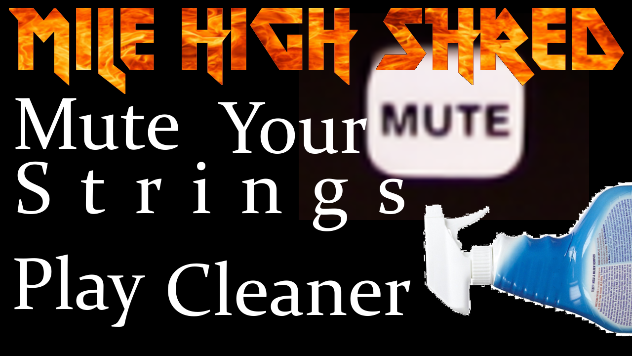 How to Mute Guitar Strings to Play Cleaner
