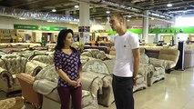 Dans le examen vidéo №2 canapé confort Transformer trois lits de table chaise canapé simple