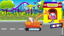 Мультфильмы про Машинки Трактор Павлик Эвакуатор спасает машинку Развивающие мультики для детей