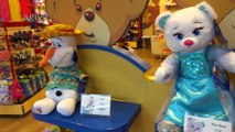 Disney Frozen Anna, Elsa and Olaf At Build-A-Bear! HD WATCH IN HD!